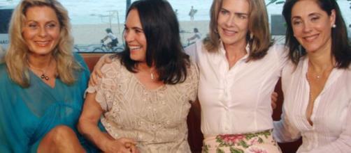 Vera Fischer, Regina Duarte, Maitê Proença e Christiane Torloni interpretaram as Helenas de Manoel Carlos. (Reprodução/TV Globo)