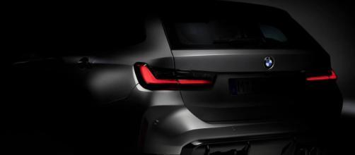 Teaser della nuova BMW M3 touring.