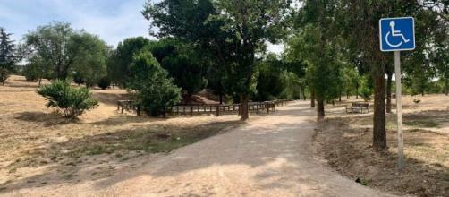 Un atracador habría estado robando con un machete en el parque forestal de Vicálvaro