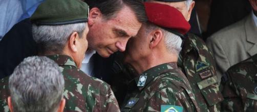 Bolsonaro comprou R$ 47 milhões de carne de primeira a militares. (Arquivo Blasting News)