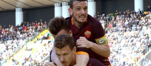 Edin Dzeko e Alessandro Florenzi, entrambi interesserebbero alla Juventus.