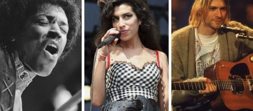Famosos que murieron a los 27 años: Amy Winehouse, Kurt Cobain y más