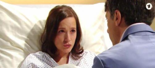 Tempesta d'amore spoiler al 28 agosto: Tim porta in ospedale Eva per delle presunte doglie.
