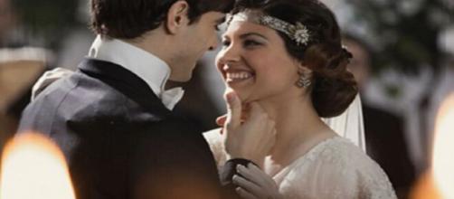 Una vita, trame Spagna: Cinta ed Emilio convolano a nozze.