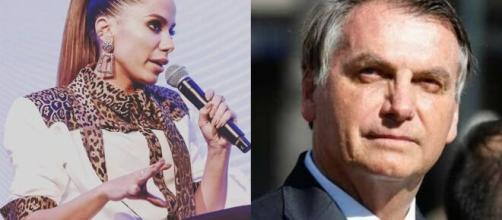 Anitta e famosos se manifestam contra Bolsonaro. (Arquivo Blasting News)