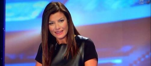 La giornalista Ilaria D'Amico.
