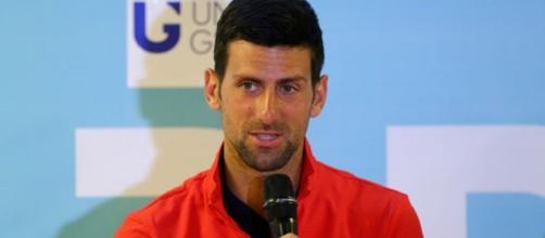 Novak Djokovic, grande favorito dell'edizione 2020 degli Us Open.