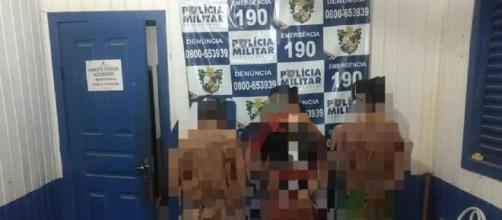 Os três parentes, padrasto, tio e avô das meninas, foram presos no MT. Foto: Reprodução/ G1