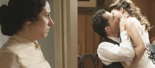 Una vita, spoiler Spgna: Lolita si sente male una volta appreso il tradimento di Antonito.