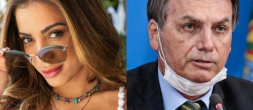 Anitta solta o verbo e critica Bolsonaro. (Arquivo Blasting News)
