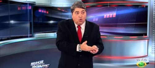 Datena responde Jair Bolsonaro ao vivo. (Reprodução/Band)