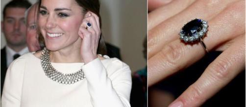 El hermosos anillo de compromiso de Kate Middleton antes perteneció a Lady Di