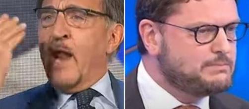 L'aria che tira, Ignazio Larussa ha battibeccato con Gennaro Migliore.