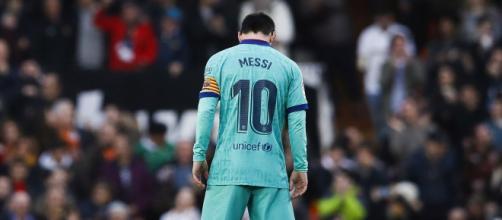 L'Inter sarebbe in pole position per Leo Messi.