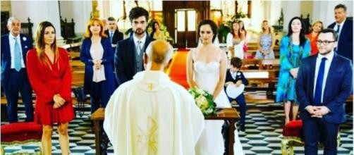 Un posto al sole, il matrimonio di Niko e Susanna.