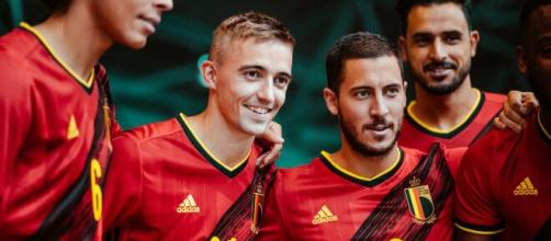 A Bélgica estreia sua nova camisa na Eurocopa. (Arquivo Blasting News)