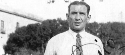 Heinrich Schönfeld ai tempi della Juventus Trapani, negli anni '30.