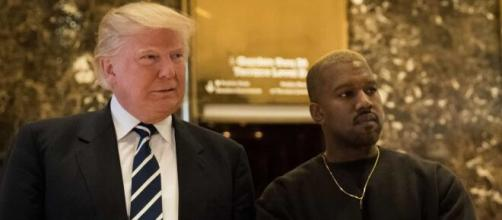 Kanye West já se manifestou estar ao lado de Trump. (Arquivo Blasting News)