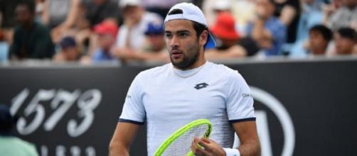 Matteo Berrettini eliminato negli ottavi di finale del Masters di Cincinnati.