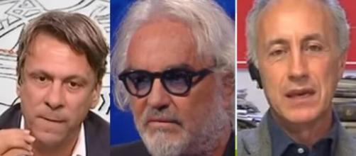 Nicola Porro contro Marco Travaglio per il suo editoriale su Flavio Briatore.