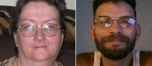 Cheryl e Tony Lavoie, mãe e filho, foram flagrados em relação íntima. (Fotomontagem)
