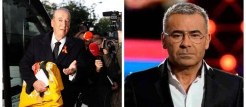Francis Franco y un empleado de Mediaset