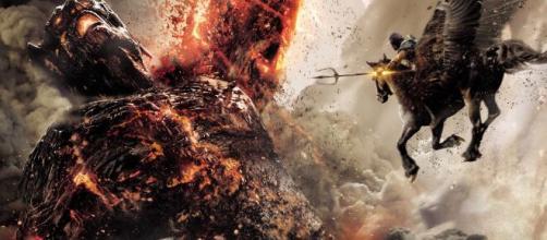 Grandes batalhas são cravadas no filme 'Fúria de Titãs'. (Reprodução/YouTube)