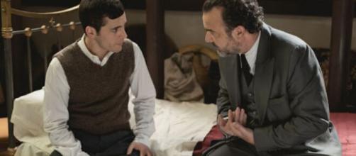 Il Segreto, spoiler spagnoli: Pablo apprende di essere il figlio illegittimo di Ignacio.