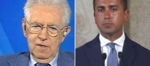 L'aria che tira, Mario Monti ha parlato di referendum e Luigi Di Maio.