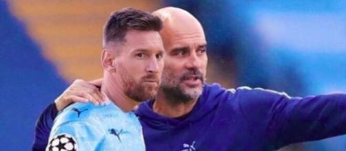 Le compte Twitter de Manchester City alimente l'arrivée de Messi au club - Photo capture d'écran compte Instagram 433