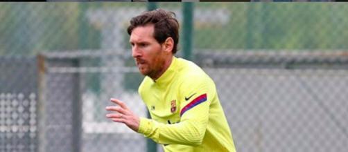 Messi pourrait partir à Manchester, le Onze de rêve possible du club. Credit: Instagram/leomessi