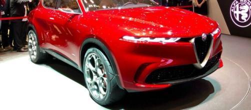 Prototipo dell'Alfa Romeo Tonale (via TuttoMotoriWeb.com)
