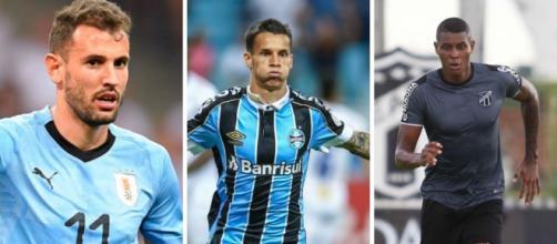 Nome de Stuani agrada no Grêmio, mas preço assusta. (Fotomontagem)