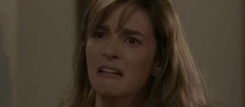 Sofia irá jurar matar Eliza em 'Totalmente Demais'. (Foto: Globo).