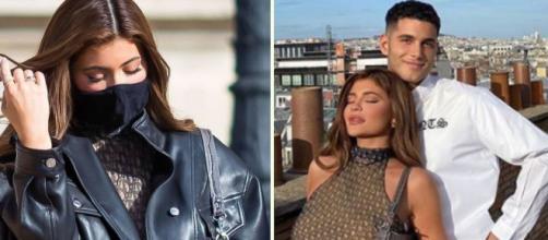 La star américaine a été aperçue à Paris alors que les mesures sanitaires entre la France et les USA sont renforcées, source : montage -Instagram