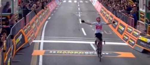 Bauke Mollema, vincitore del Giro di Lombardia nel 2019.