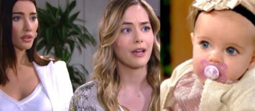 Beautiful, spoiler Usa: Hope decide di prendersi cura di Kelly, Steffy furiosa.