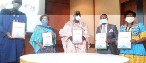 Signature du Document Projet de l'initiative Youth Connekt Cameroon et les Agences du Système des Nations Unies au Cameroun (c) Minjec