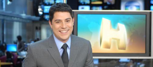 Evaristo Costa faz aniversário em setembro. (Reprodução/TV Globo)