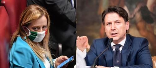 Giorgia Meloni attacca il governo Conte.