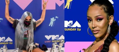 Lady Gaga et Doja Cat ont enflammé cette édition 2020 des MTV Video Music Awards, source : Capture - MTV