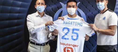 Nagatomo signe à l'OM, qui espère un attaquant pour conclure son mercato