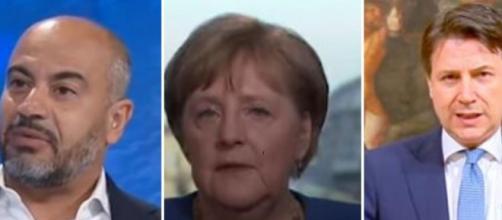 Paragone critica la Germania e il governo italiano.