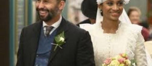 Una vita, anticipazioni Spagna: le nozze tra Felipe e Marcia vengono interrotte, lei è già sposata.