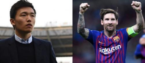 Inter, Zhang contatta l'entourage di Messi.