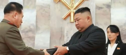 Kim Jong-un of North Korea on 67th anniversary of Korean War Armistice Agreement. [Image source/ARIRANG NEWS YouTube video]