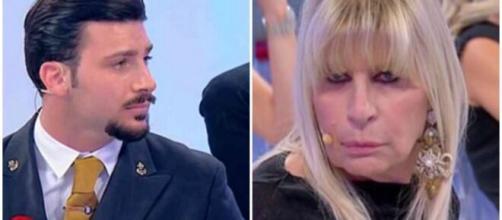 UeD: Nicola Vivarelli deuso dall'atteggiamento di Gemma Galgani.