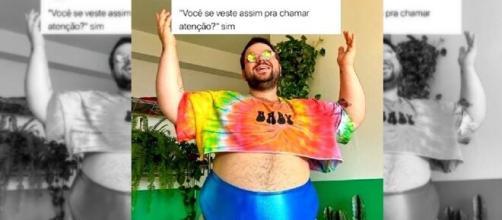 Caio Revela é ativista na luta contra a gordofobia. (Reprodução/Redes Sociais)