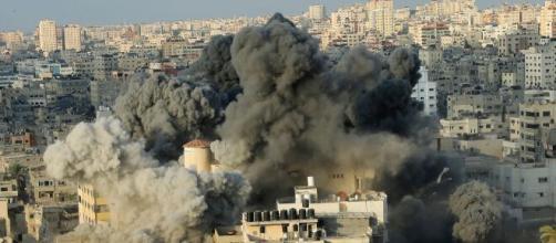 Explosión en Beirut debido al nitrato de amonio almacenado