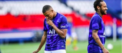 Le PSG décerne le trophée de Skill de l'année les internautes sous le choc - Photo compte Instagram Mbappé